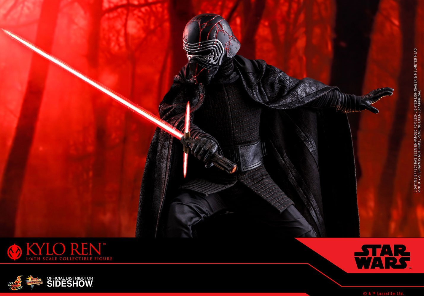 Hot Toys MMS560 1//6 Scale Star Wars The Rise of Skywalker Kylo Ren Action Figure