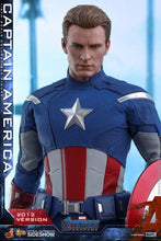 Load image into Gallery viewer, Hot Toys 1/6 MMS563 - Avengers Endgame: Captain America (2012 Version)