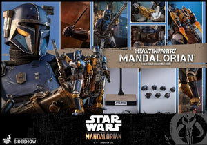 Hot Toys 1/6 TMS010- Star Wars The Mandalorian: Heavy Infantry Mandalorian