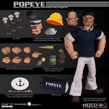 Load image into Gallery viewer, Mezco-One-12-Popeye-Bluto