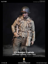 Load image into Gallery viewer, FacePool 1/6 - US Ranger Captain Miller France 1944