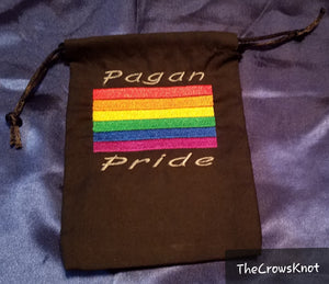 Pagan Pride Tarot/Rune Bag - The Crows Knot
