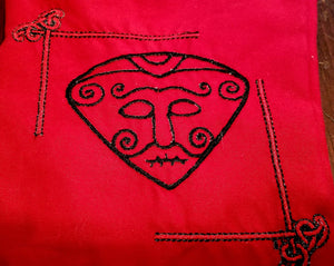 Loki Snaptun Stone Tarot/Rune Bag - The Crows Knot