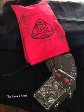 Load image into Gallery viewer, Loki Snaptun Stone Tarot/Rune Bag - The Crows Knot