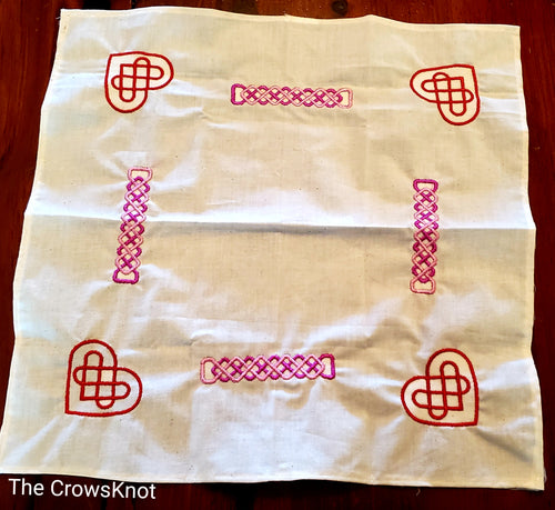Celtic Heart Knots Altar Cloth