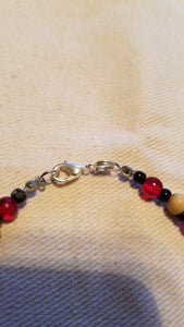 Blood and Bone Clasp Bracelet - The Crows Knot