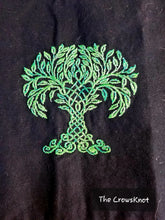 Load image into Gallery viewer, Deluxe World Tree/Celtic Knot Altar Cloth - The Crows Knot