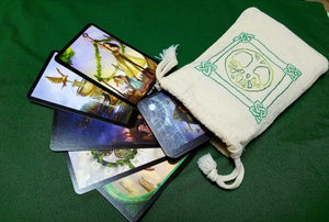 Celtic Knot World Tree Tarot/Rune Bag - The Crows Knot