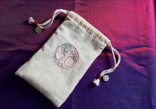 Load image into Gallery viewer, Deluxe World Tree Rune/Tarot Bag - The Crows Knot