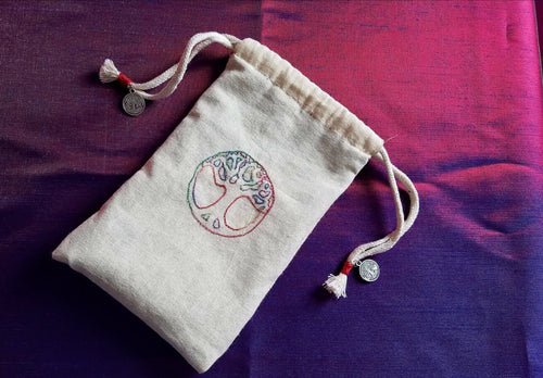 Deluxe World Tree Rune/Tarot Bag - The Crows Knot