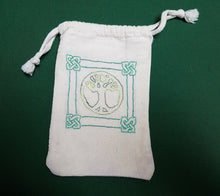 Load image into Gallery viewer, Celtic Knot World Tree Tarot/Rune Bag - The Crows Knot