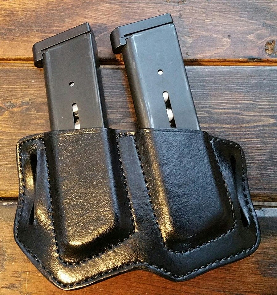 Belt Slide Double Mag Carrier