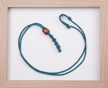 Load image into Gallery viewer, Aquamarine Hemp Necklace