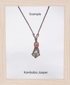 Dark Brown Hemp Necklace