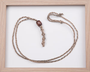 Earthy Hemp Necklace