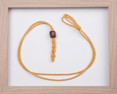 Gold Hemp Necklace