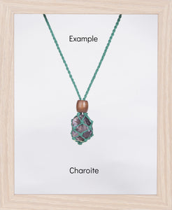Green Hemp Necklace
