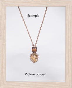 Light Brown Hemp Necklace
