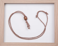 Load image into Gallery viewer, Light Brown Hemp Necklace