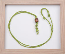 Load image into Gallery viewer, Lime Green Hemp Necklace
