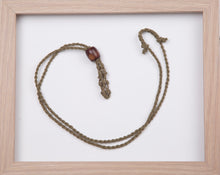 Load image into Gallery viewer, Olive Hemp Necklace