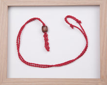 Load image into Gallery viewer, Red Hemp Necklace