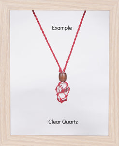 Red Hemp Necklace