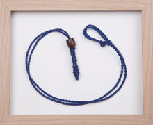 Load image into Gallery viewer, Royal Blue Hemp Necklace