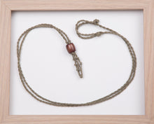 Load image into Gallery viewer, Sage Hemp Necklace