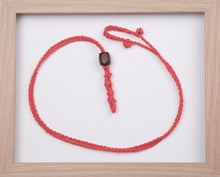 Load image into Gallery viewer, Sunset Coral Hemp Necklace