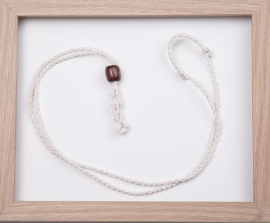 White Hemp Necklace