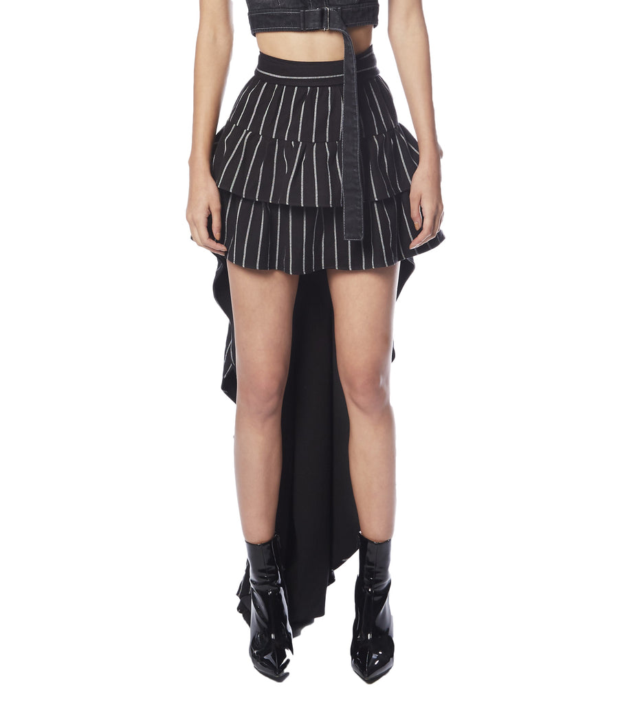 FAITHFULL Ruffled Mullet Skirt