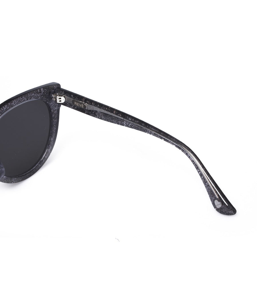 ARISSA X REVÉ by RENÉ STARRY-EYED Sunglasses (Silver)