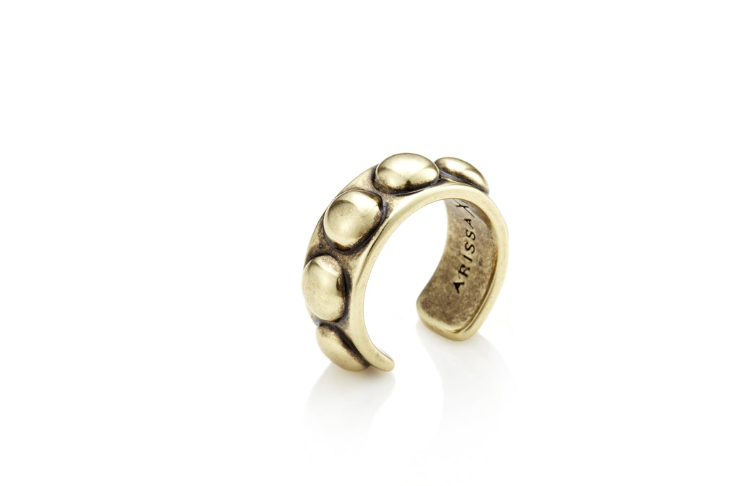 I'M BADASS Ring (Gold)