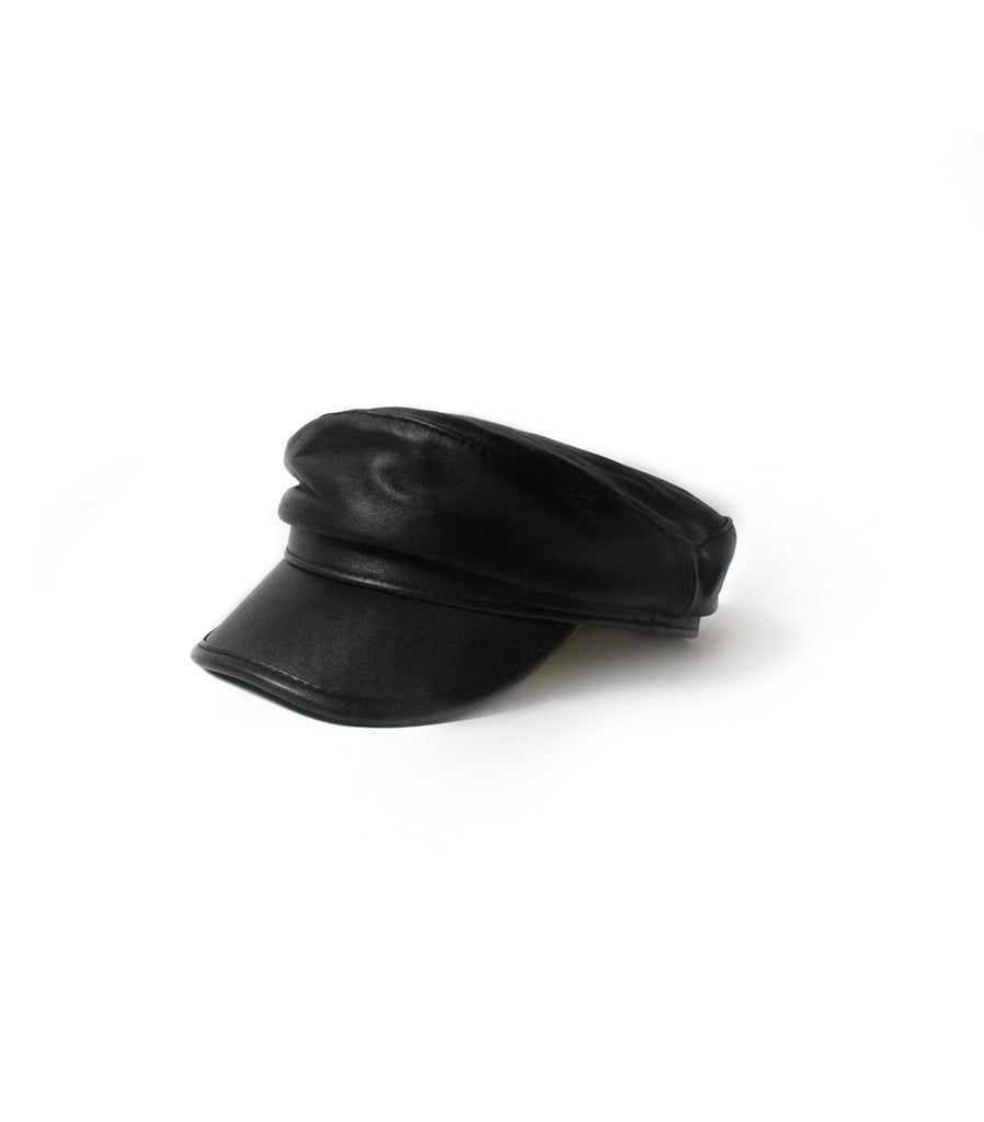 TOMMY Leather Hat