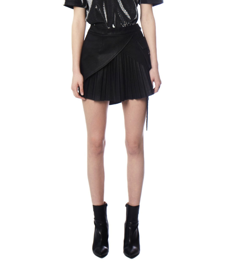 MONROE Pleated Mini Skirt
