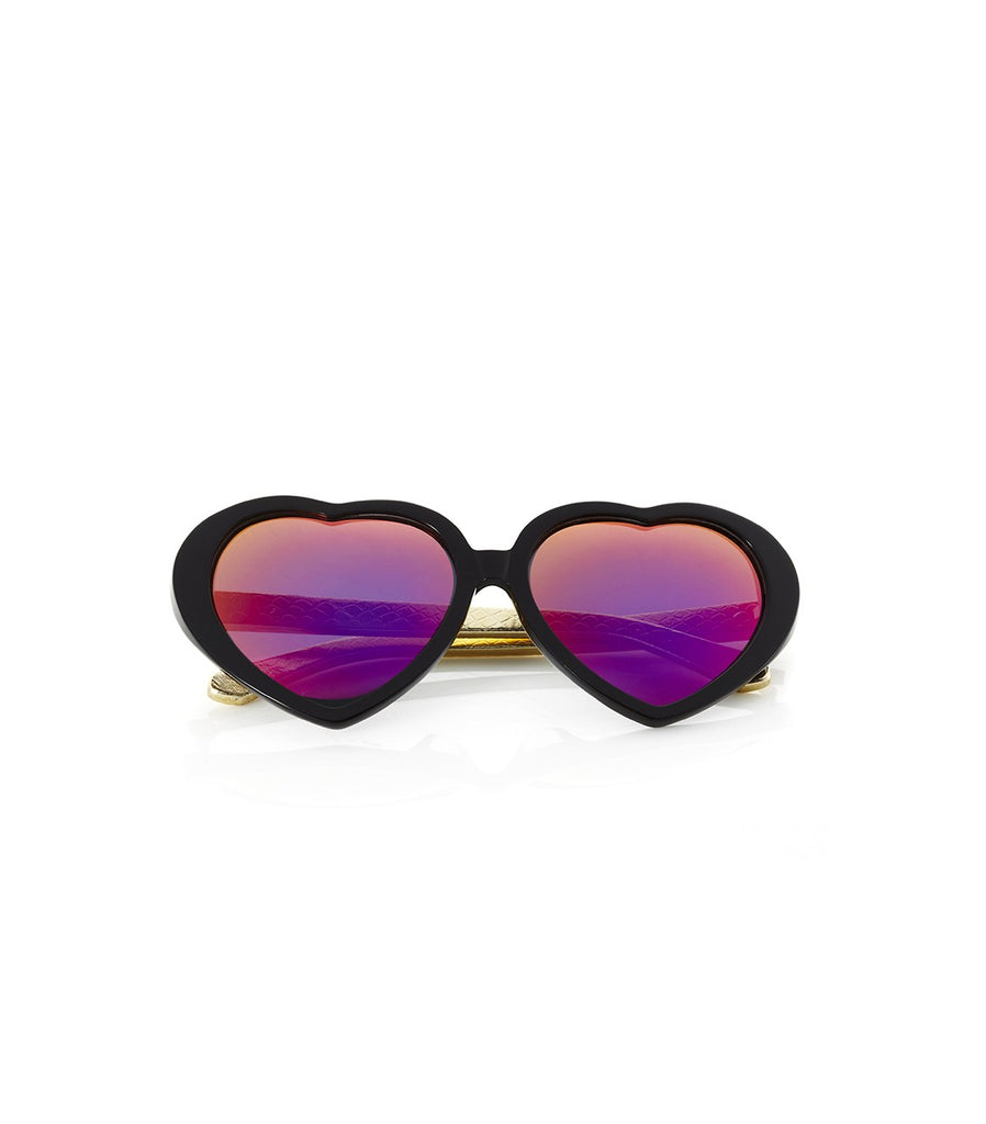 EYE HEART YOU Sunnies (Rose/Gold)