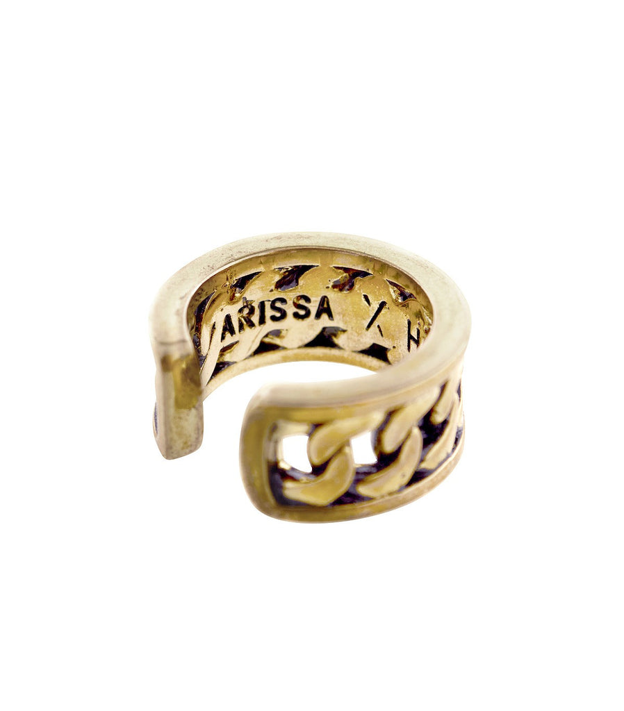 ARISSA X HANSHSU Chain Ring  (Gold)
