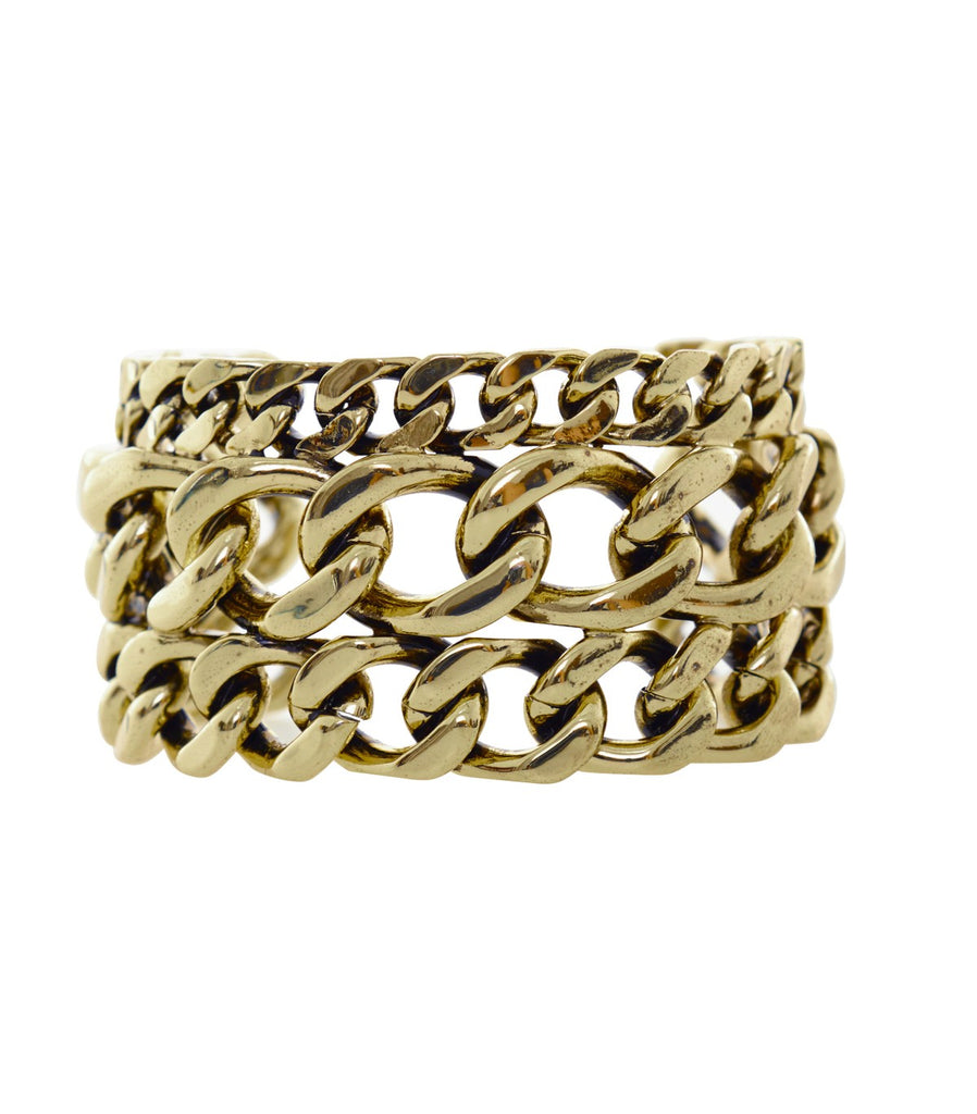 STEVIE Chain Cuff (Gold)