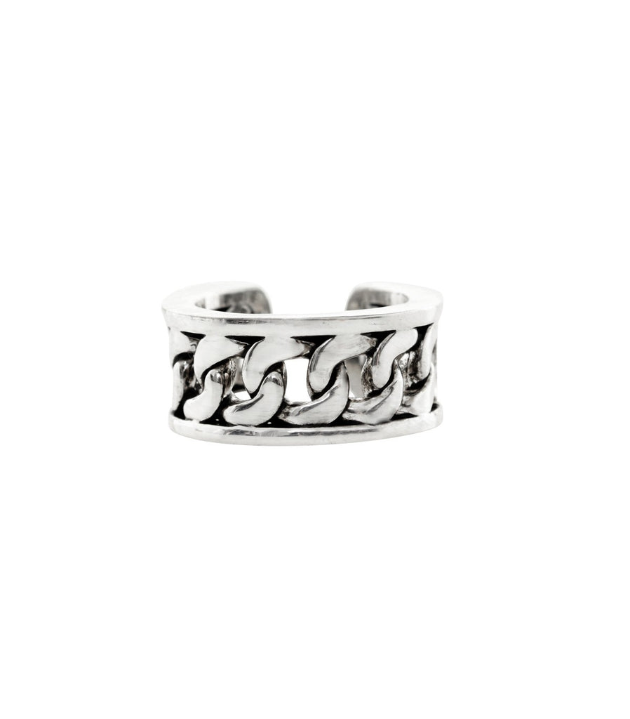 ARISSA X HANSHSU Chain Ring  (Silver)