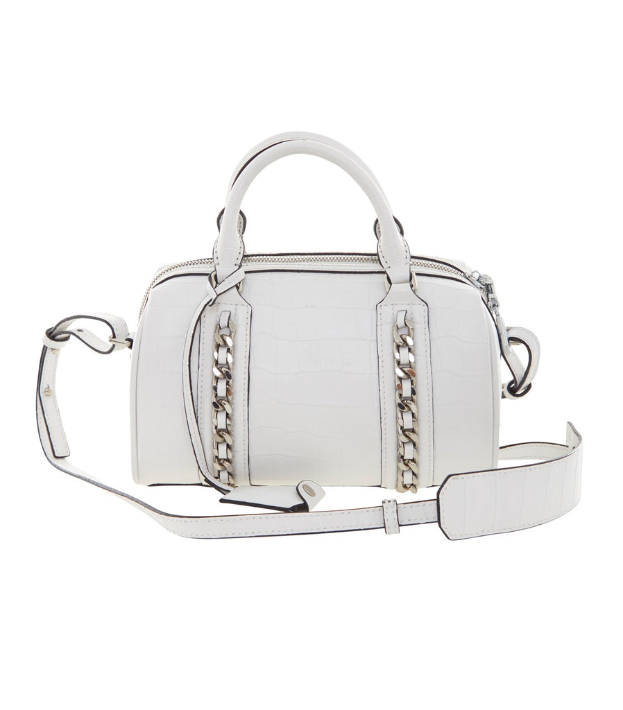 ARISSA X HANSHSU Chain Duffle Bag (White)
