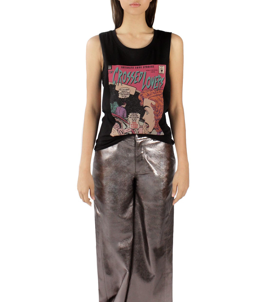 STAR-CROSS'D LOVERS Comic Tank (Black)