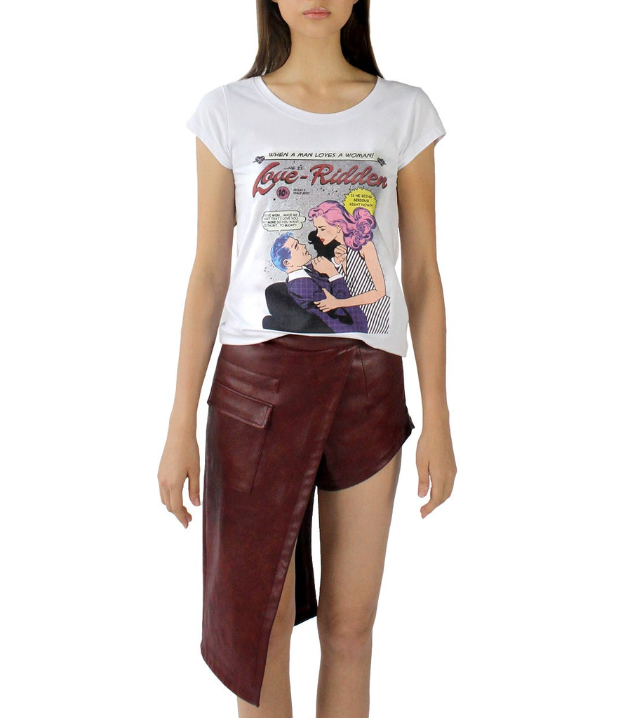 LOVE-RIDDEN Comic Tee