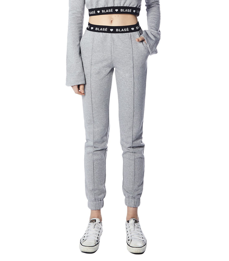 BLASÉ Joggers (Heather Grey)