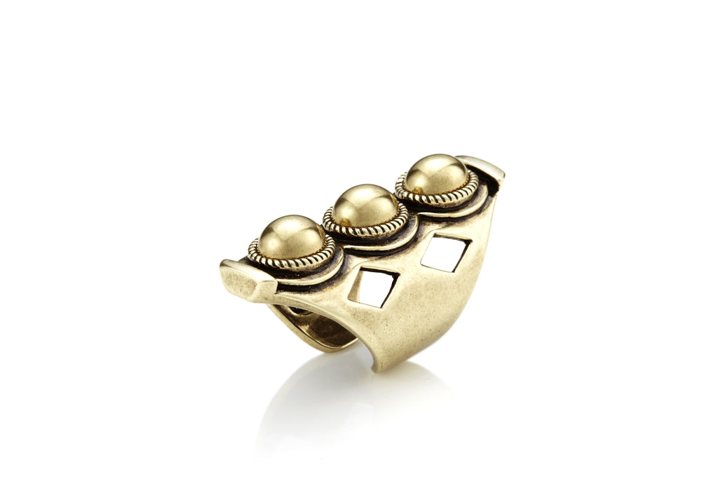 """AXL"" Ring in Gold"