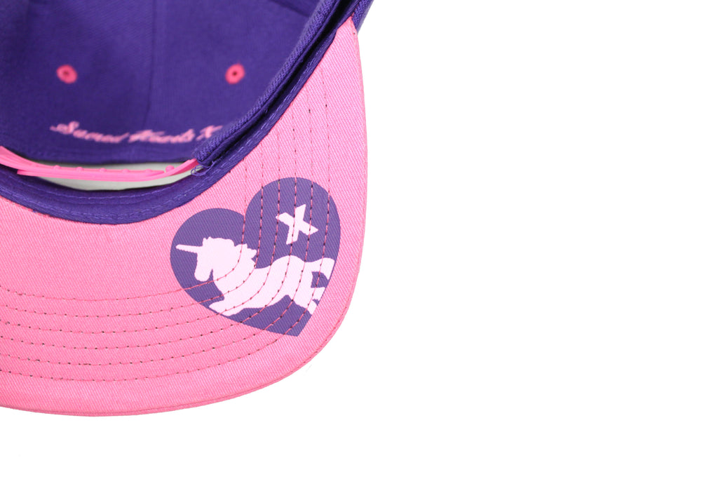 S.H.X PURPLE/PINK TWO-TONE LOVER CAP