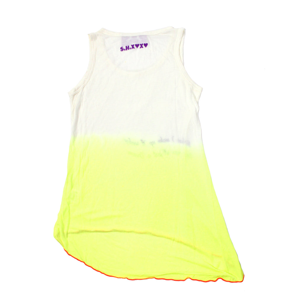 S.H.X GRADIENT YELLOW RELAXED TANK