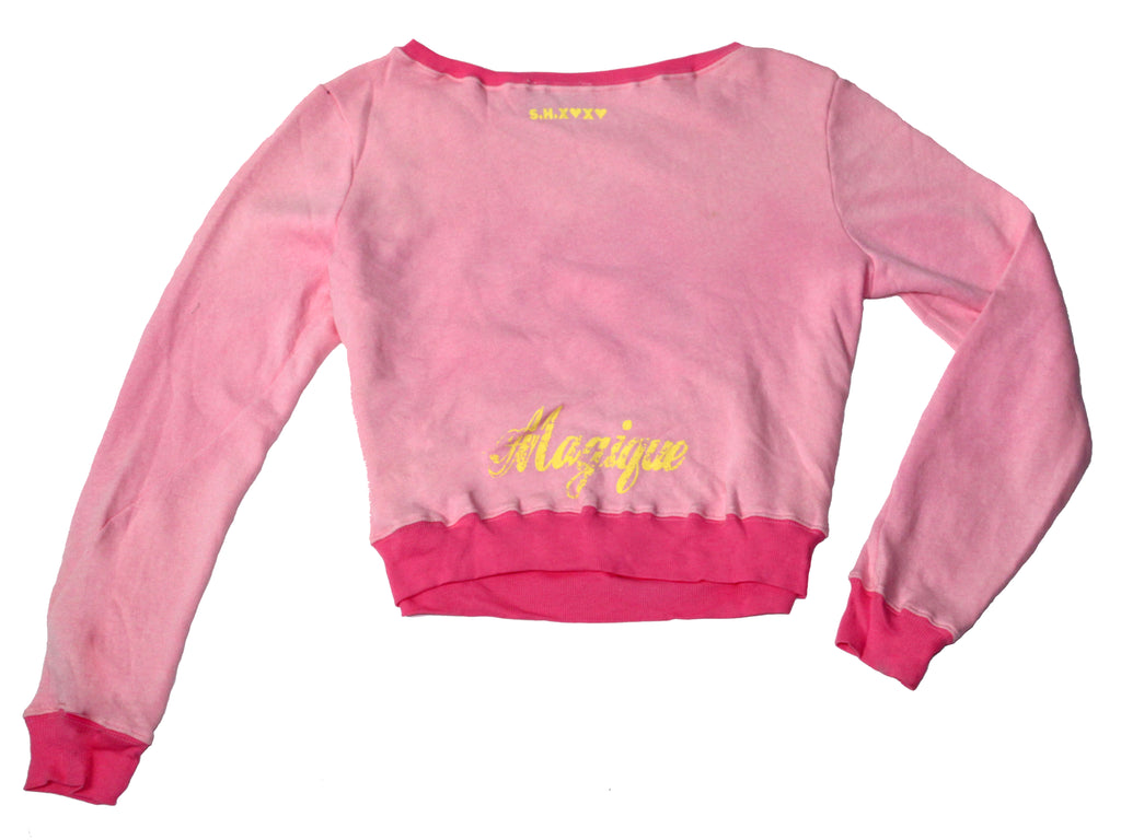 S.H.X PINK UNICORN LOVE SWEATER
