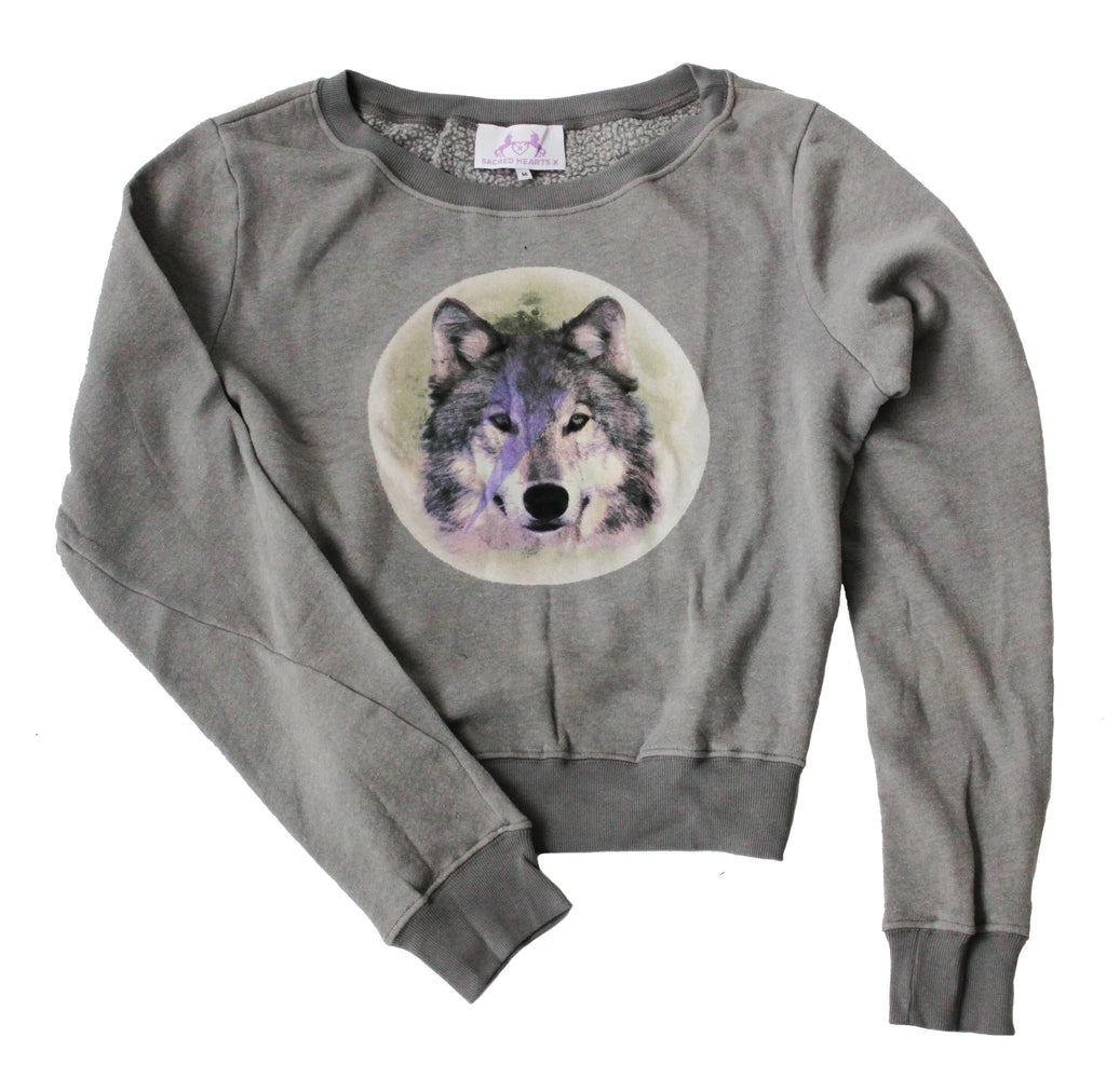 S.H.X GREY WOLF SWEATER