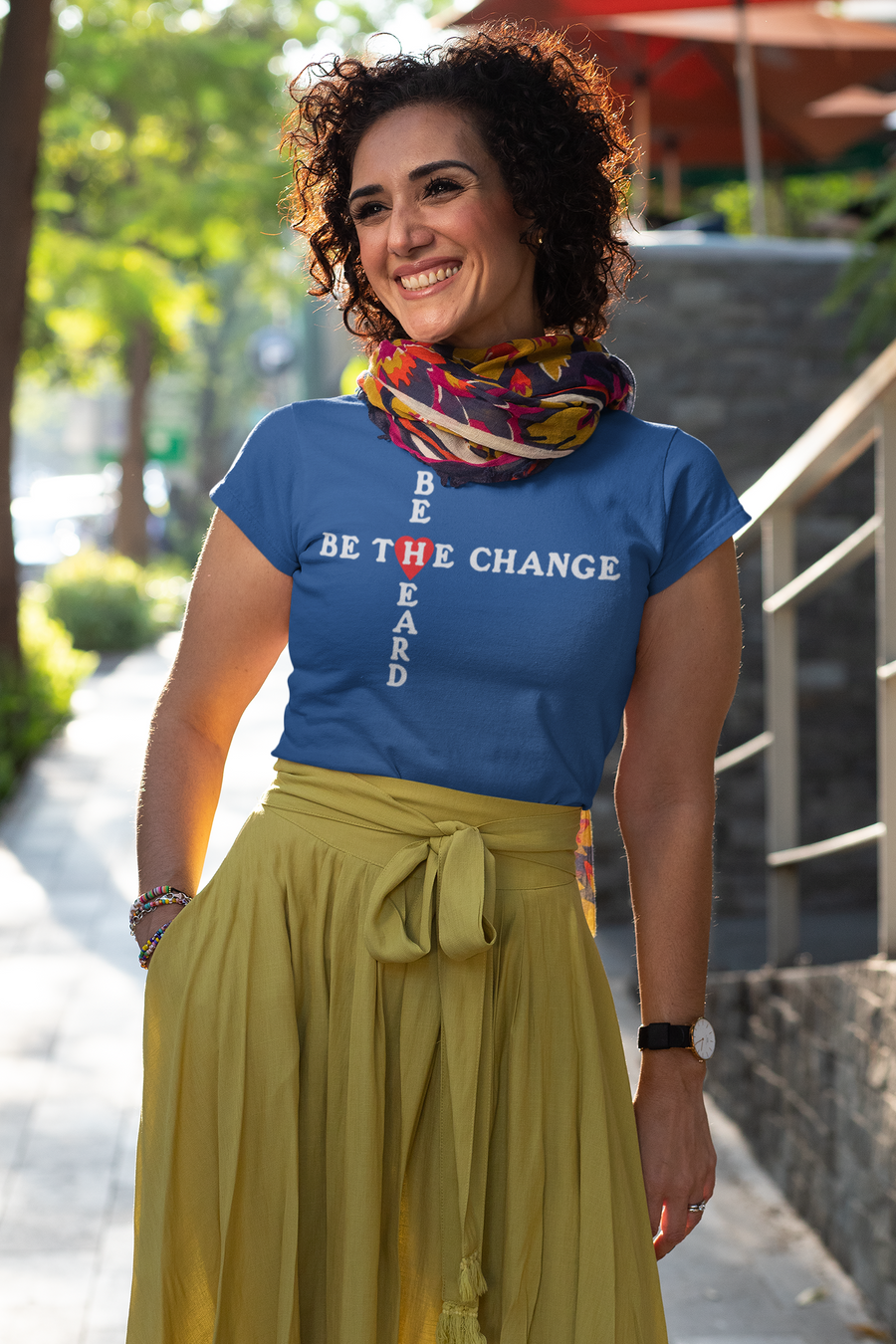Be Heard Be The Change Unisex T-Shirt